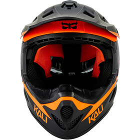 Kali Zoka Helmet Herre matte black/orange